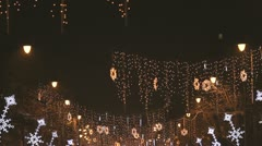 New year decoration Stock Footage