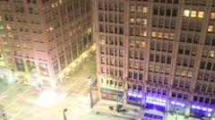 Dallas Night Window Arkistovideo