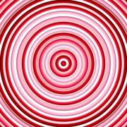 Color circles in shades of pink and red. Stock Illustration