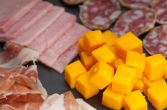 Stock Photo of assorted cold cut platter