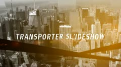Transporter Slideshow - stock after effects