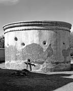 Tumacacori mission ruins Stock Photos