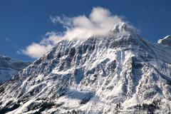 jasper mountain - stock photo