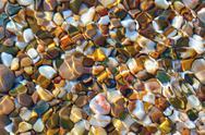 Multicolored stones Stock Photos