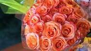 Jan Stock Wedding Flowers 3 Bouquet Stock Footage