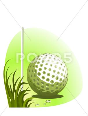 Stock Illustration of Golf illustration