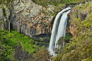 Stock Photo of ebor river waterfall