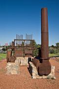 Stock Photo of cobar machinery
