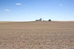 Dry farm Stock Photos