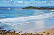 Stock Photo of beach at yamba