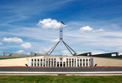 parliament house - stock photo