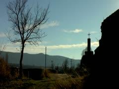 Camino de Santiago Stock Footage