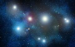 stars in space or night sky - stock illustration