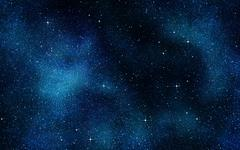 Stars in space or night sky Stock Illustration