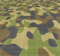 Spread camouflage Stock Illustration