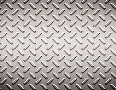 alloy diamond plate - stock illustration