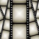Abstract filmstrip Stock Illustration