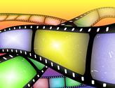 Filmstrip abstract Stock Illustration