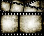 Abstract filmstrip Stock Illustration