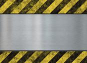Stock Illustration of hazard stripes