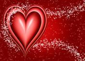 Valentines heart Stock Illustration