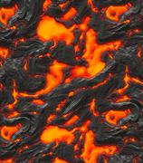 Magma Stock Illustration