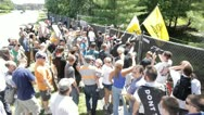 Stock Video Footage of Occupy Bildeberg 6