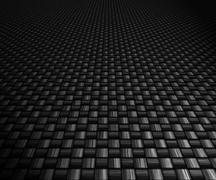 carbon fibre background - stock illustration