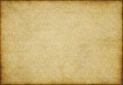 Old yellow brown vintage parchment paper texture Stock Illustration
