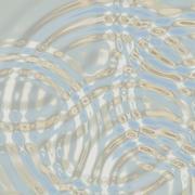 Silver ripples Stock Illustration