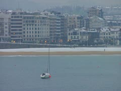 San Sebastian in Snow Stock Footage