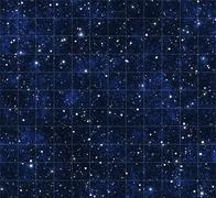 Starmap stars and outer space Stock Illustration
