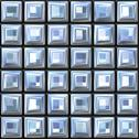 Retro tile background Stock Illustration