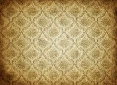 Old wallpaper background Stock Photos