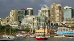 Milson Point area of Sydney Stock Footage