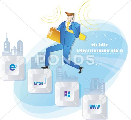 Stock Illustration of Science and Technology