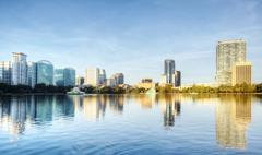 Orlando Skyline Stock Photos