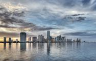 Stock Photo of Miami Skyline