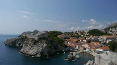 Dubrovnik old town Stock Footage