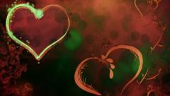Valentine Background 11 Stock Footage