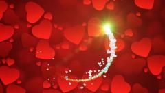 Valentine Background 12 Stock Footage