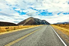 Great alpine highway Stock Photos