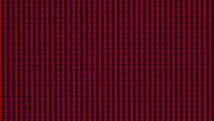 LCD display pixel macro close-up hue wheel Stock Footage