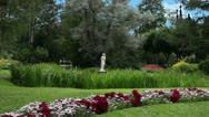 Tranquil Garden Stock Footage