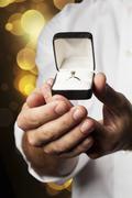 marry me! - stock photo