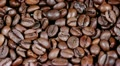 Coffee grains in rotation HD Footage