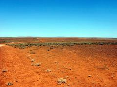 Stock Photo of outback track