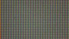 LCD display pixel macro close-up Stock Footage