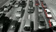 Kuala Lumpur road traffic Stock Footage