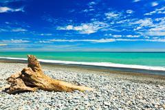 tasman sea - stock photo